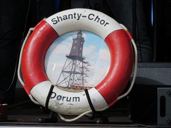 Der Shanty Chor Dorum schaut auch vorbei