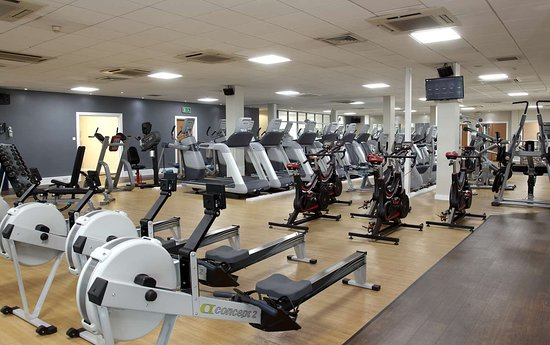 Bellshill, UK: Health club