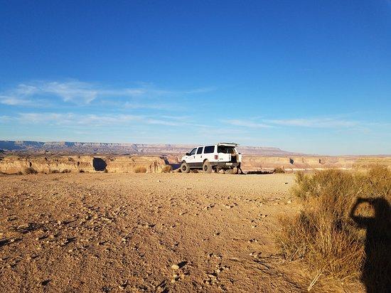 Alstrom Point Tour: Our transport.