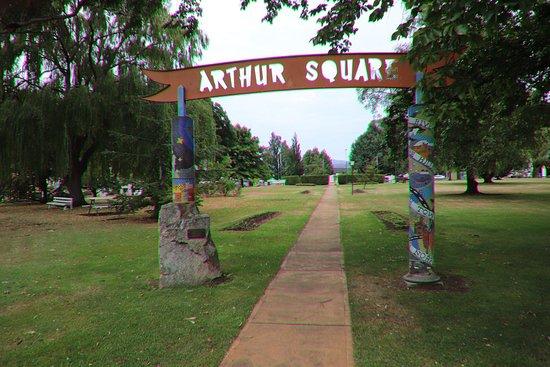 New Norfolk, Australie : Arthur Square