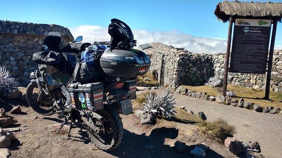 Chimborazo Province, Ecuador: estacionamento do Parque