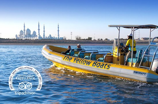 Abu Dhabi RIB Sightseeing Boat Cruise