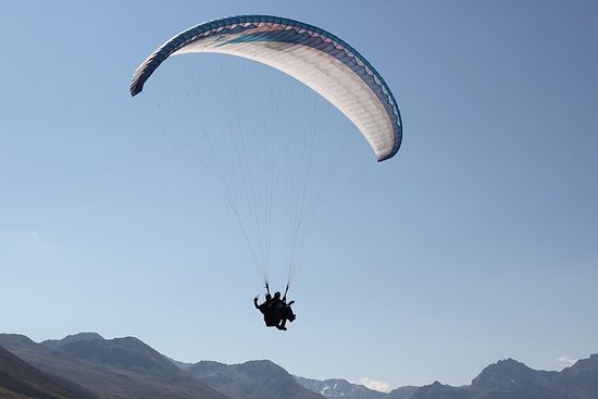 Paragliding Tandemflug in Davos