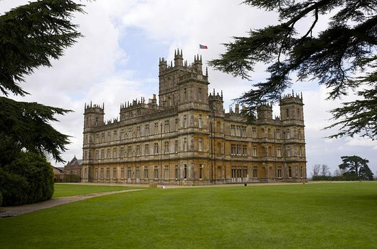 Downton Abbey og Highclere Castle...