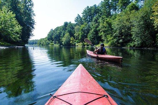 Delaware River Kayak e Viagem de um...