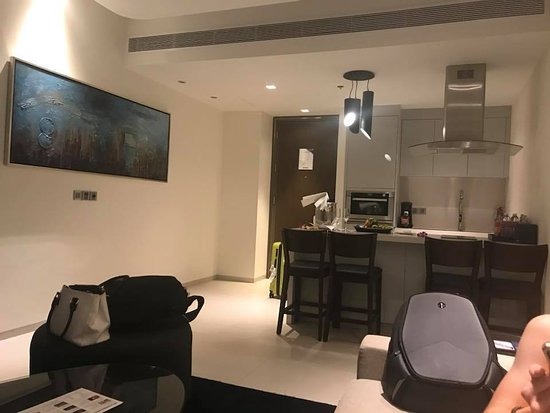 Living Room And Kitchen With Another Tv Separate From Bedroom And Bathroom Picture Of Dream Phuket Hotel Spa Choeng Thale Tripadvisor