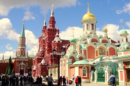 モスクワロシアへの信じられないほどのクレムリンと赤い広場ツアー