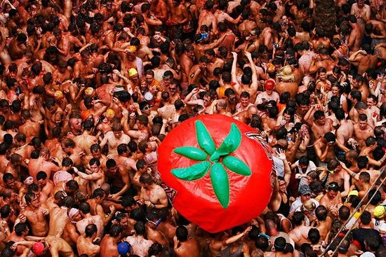 Bunol La Tomatina Festival Resan med ...
