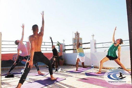 Pacote de Yoga e Surf