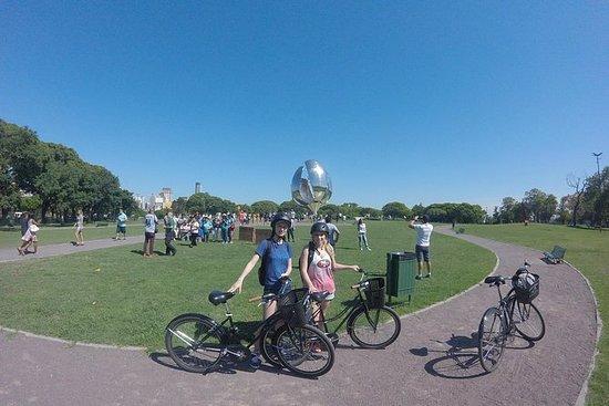 ランチとブエノスアイレスの周りの自転車ツアー