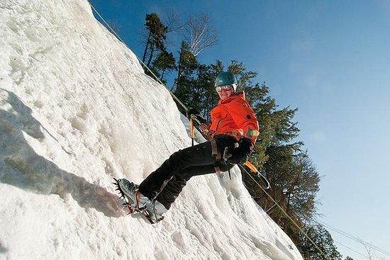 École d'escalade de glace de Tremblant