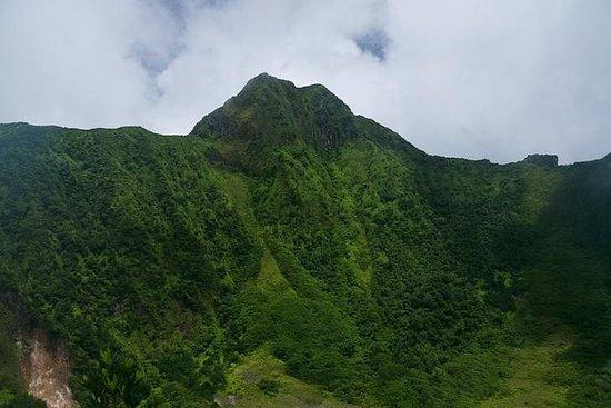 Volcano Crater vandring i St Kitts