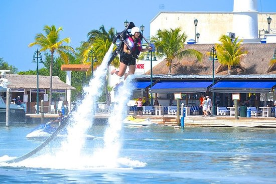 Vôo do Cancun JetPack 20 min
