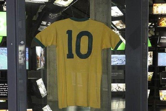 Entrada al museo del Fútbol