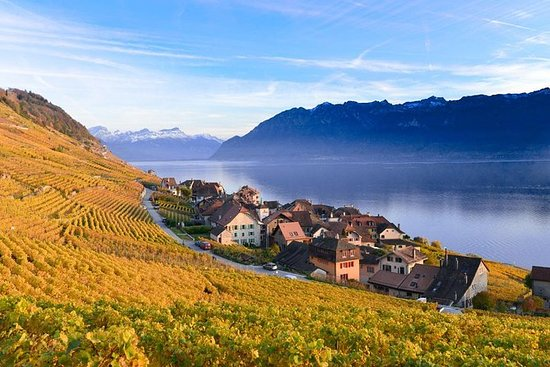 Riviera line To Montreux incluindo o...