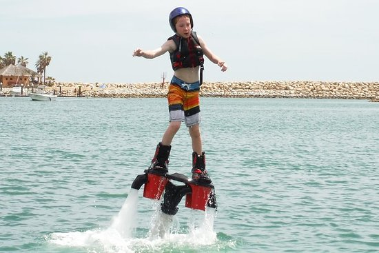 Hydro JetPack (flyboard) for Kids...