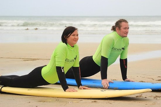 Private Two on One Surf Lesson in...