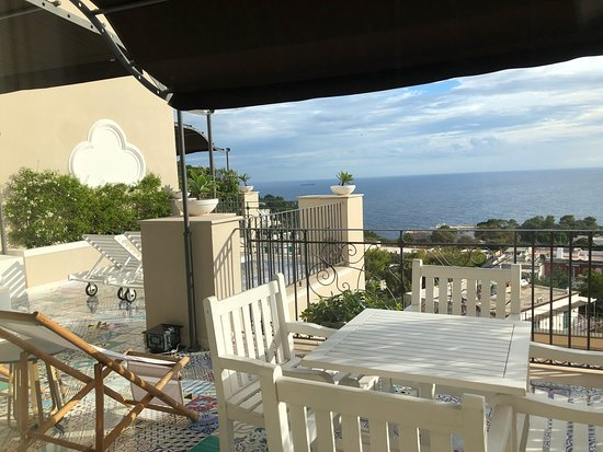 Balcony - Capri Tiberio Palace Photo