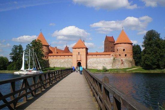 Trakai Island Castle Museum Entrance...