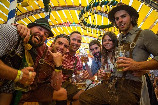 London to Oktoberfest Train - Camping Package Incl Breakfast and...