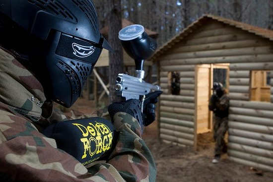 Full day paintball pass in West...