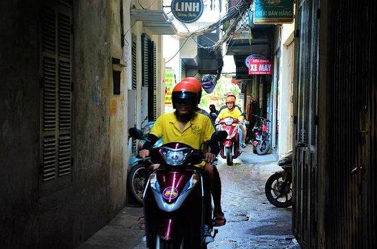 Excursão de moto pela cidade, cultura...
