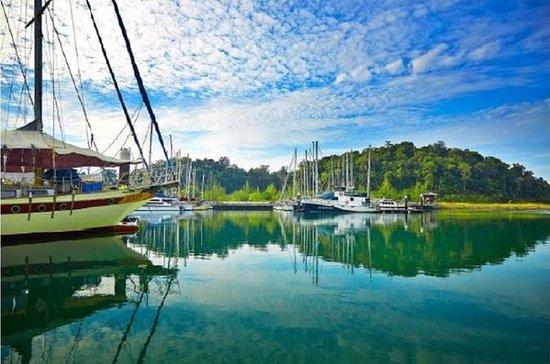 Mediodía, visita a la isla de Rebak...