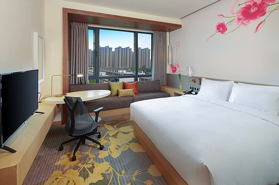 Qidong, China: Guest room