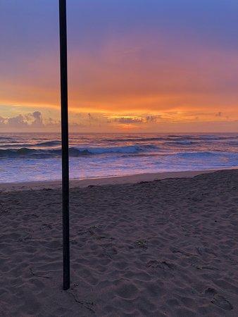 Club Villa: beach