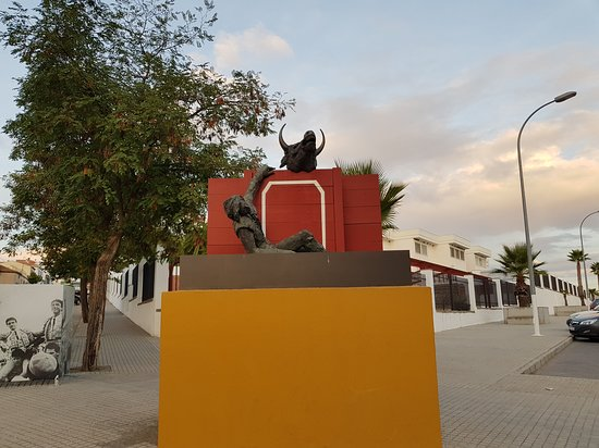 Pozoblanco, Ισπανία: puerta plreaza de toros pozo blanco