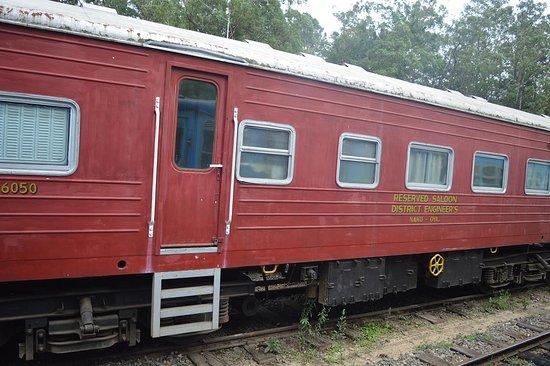 Nanu Oya, Srí Lanka: train