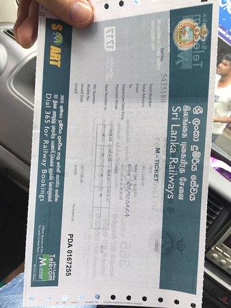Nanu Oya, Srí Lanka: tickets