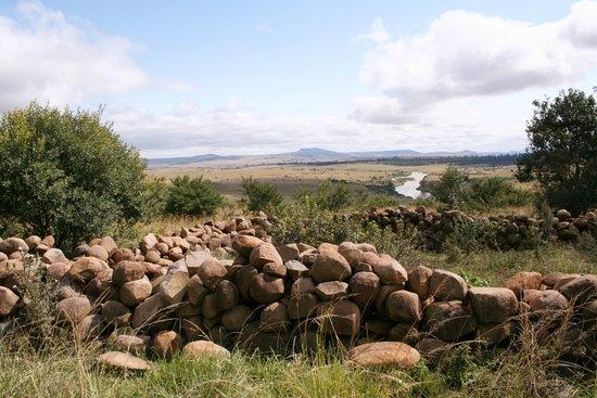 Rorke's Drift, Sør-Afrika: stone kraal