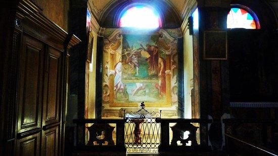 Sizzano, Italie : Altare navata sinistra