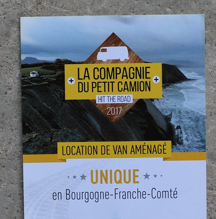 Branges, ฝรั่งเศส: Transformez votre camion en Campervan