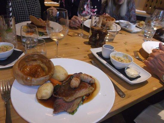 The Greene Oak: Roast beef