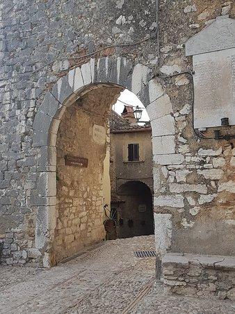 Labro, Italie: vicolo