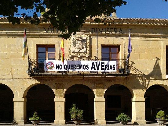 San Vicente de la Sonsierra, Spain: Fachada principal del Ayuntamiento.