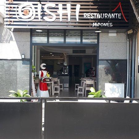 restaurante japonés Oishi