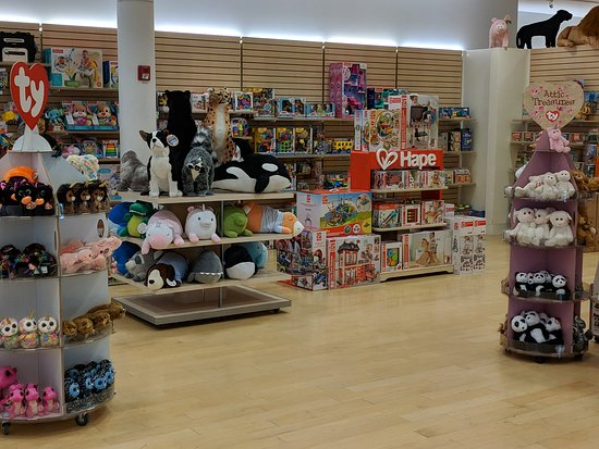 Kingston, MA: Toddler section of Maziply Toys