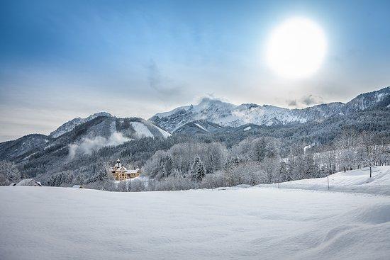 Sankt Gallen, Αυστρία: Winterlandschaft um Kassegg
