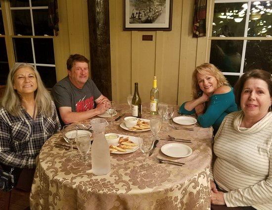 Whitesburg, GA: gourmet dinner w/ family