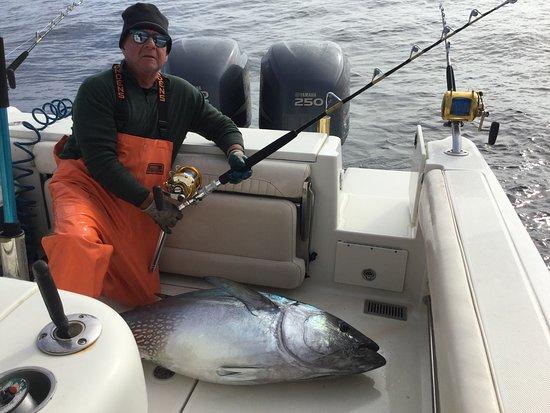 Seacoast New Hampshire Sportfishing: Double Hook Up Day