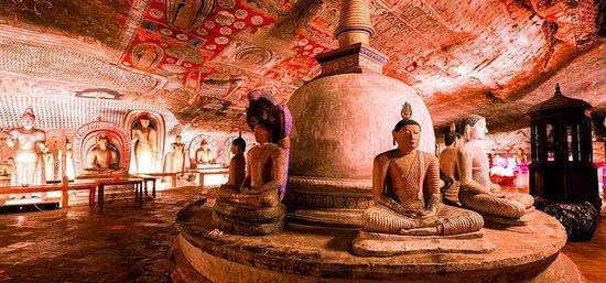 Dambulla Cave Temple Dambulla Sri Lanka With The Sri Lanka Travel