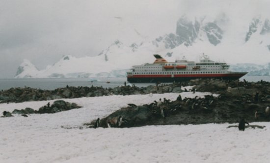 Port Lockroy: La Nave Nord Norge