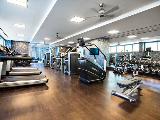 Fitness Center At Live Spa Live Casino Hotel Picture Of