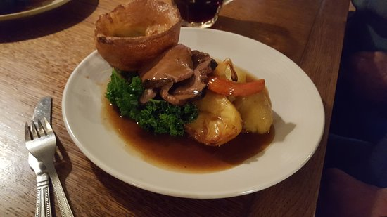 Michelmersh, UK: Sunday roast
