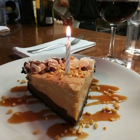 Peanut Butter Pie for the Birthday boy