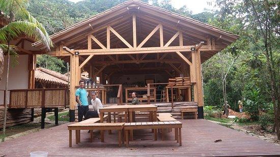 San Rafael, โคลอมเบีย: Kitchen from Vanadurga Ashram temple.