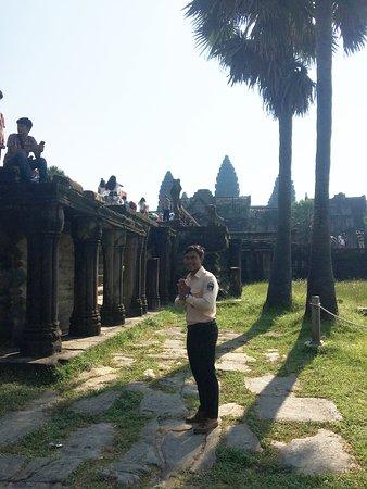 Chanthou at Angkor